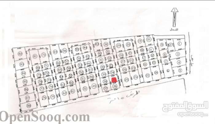 500م ارض للبيع غوط بوساق كاش /شيك مصدق