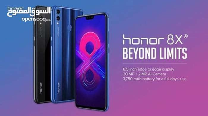 هديه بقيمة 25 دينار مع جهاز Honor 8X جديد بكفالة الوكيل