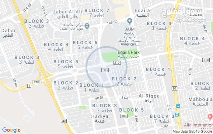 بيت على ثلاث زوايا رئيسية للبيغ تقاطع شارع الغوص وشارع الرقة المهبولة