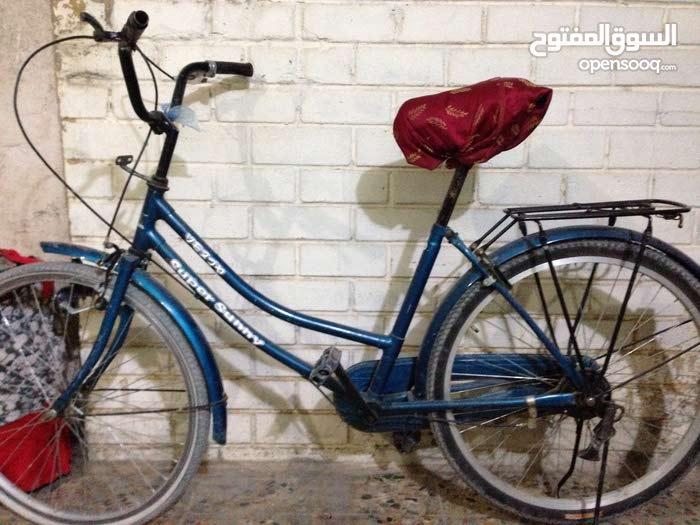 دراجه هوائيه بناتي حجم 26 مستعمل هذا الرقم بيه فايبر لغرض السفر07708967190