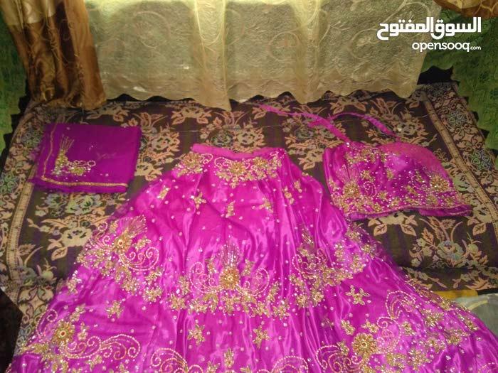 فستان شراره مخيط جاهز للعرايس ولحفلات الخطوبه والمناسبات للبيع