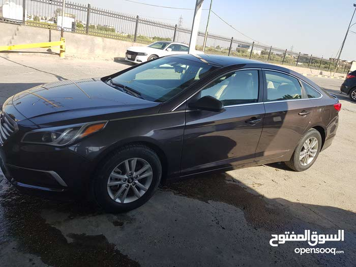 Brown Hyundai Sonata 2016 for sale