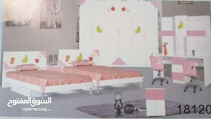 غرف نوم اطفال سريرين بموديلات روعة