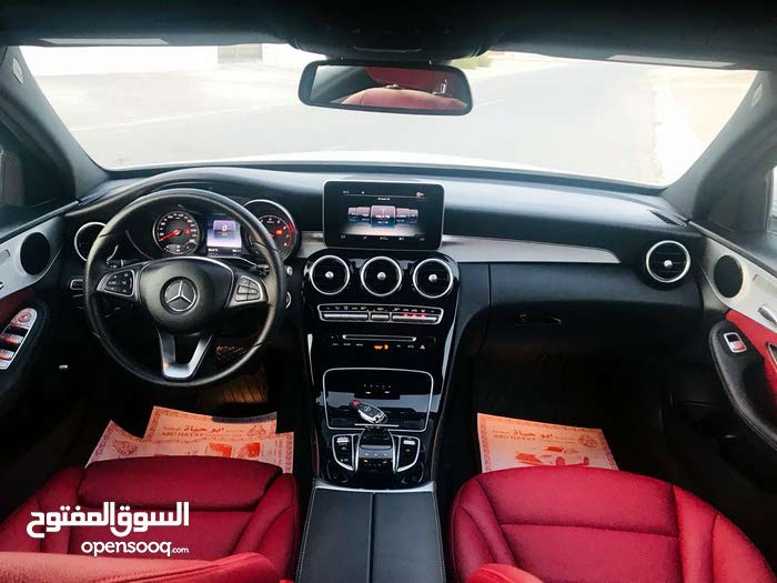 Mercedes Benz C 300 2017 For sale - White color