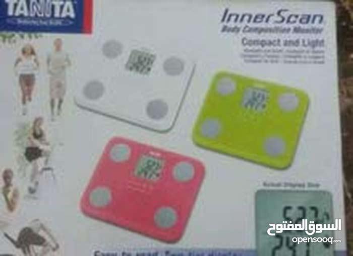 ميزان ديجتال وقياس نسبه الدهون بالجسم