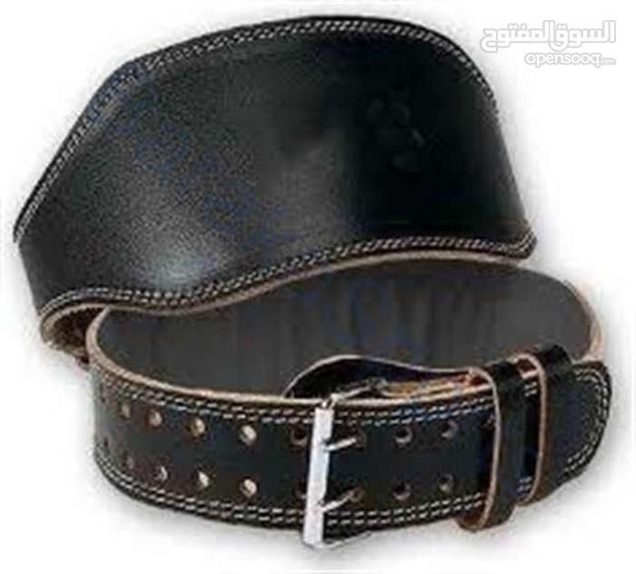 حزام حديد جلد