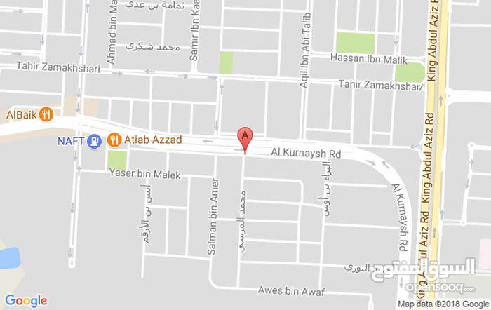 excellent finishing palace for sale in Jeddah city - Al Shate'a