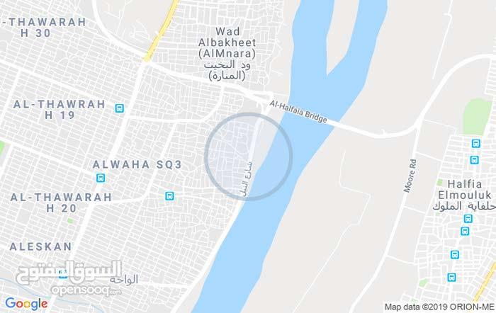 قطعه أرض مميزة مطلة على ش.النيل (حي النسمة)