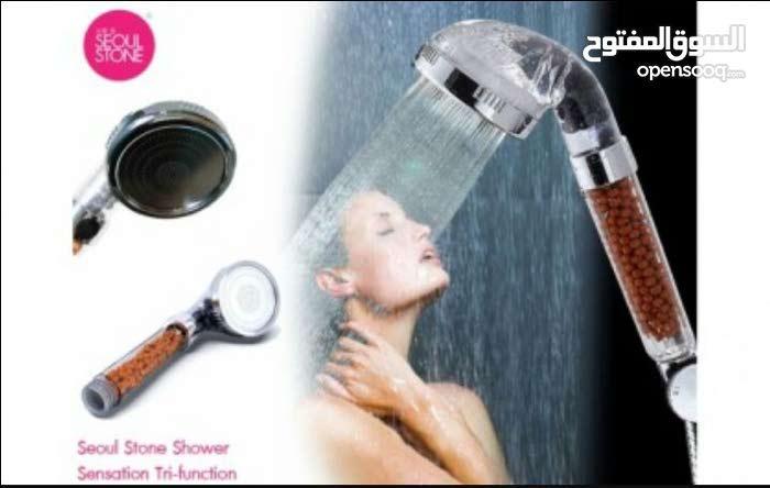 دش التورمالين تعاني من ضغط الماء  المنخفض اثناء الاستحمام