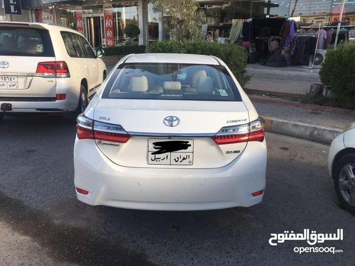 Toyota Corolla in Baghdad