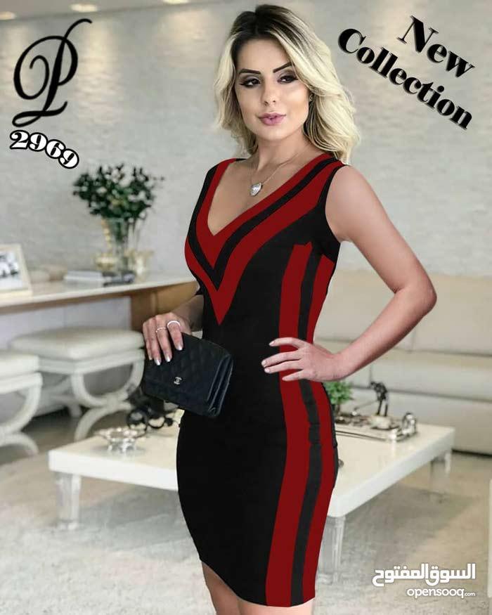 فستان كريب سكوبا
