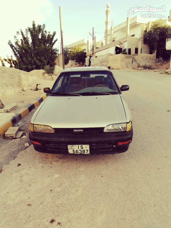 Manual Toyota 1988 for sale - Used - Jerash city