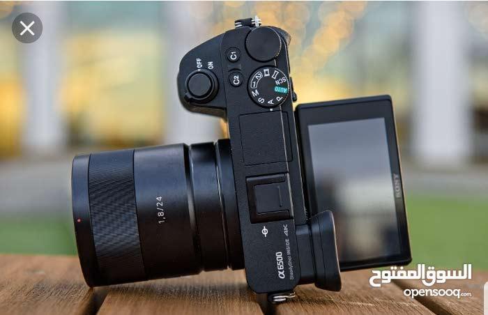 للبيع كاميرا سوني  a6500 4k