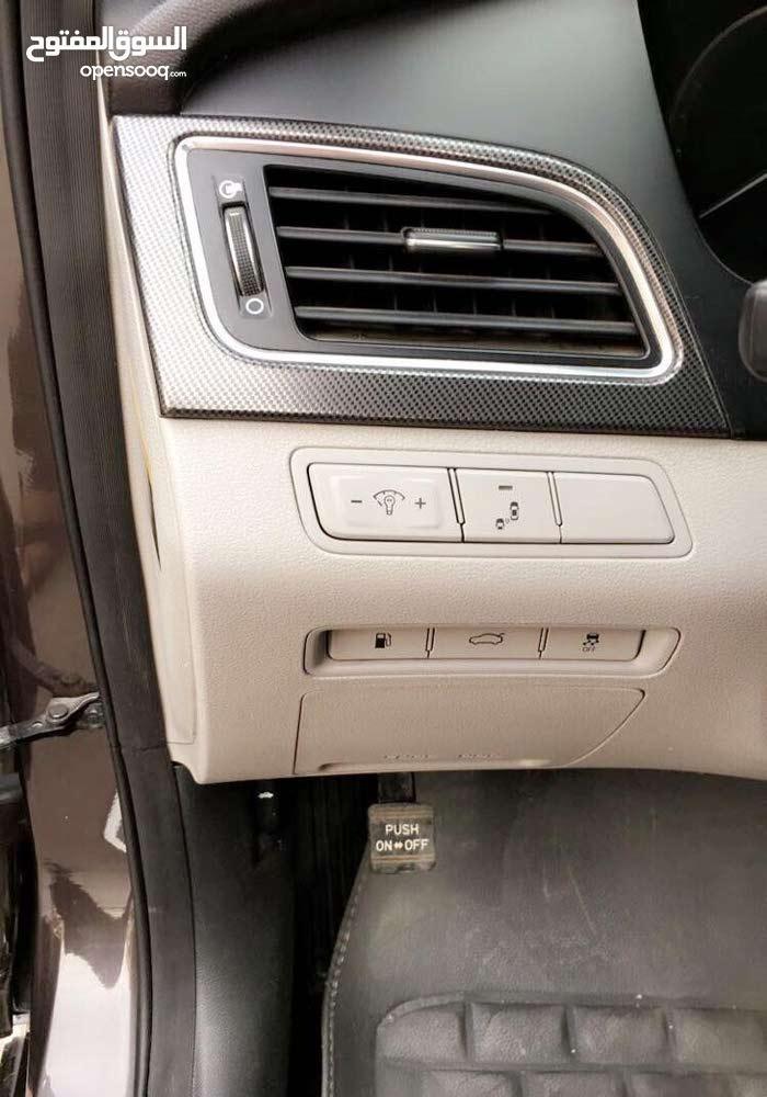 Brown Hyundai Sonata 2015 for sale