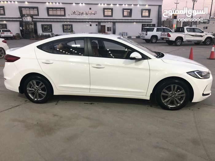 Automatic White Hyundai 2017 for sale