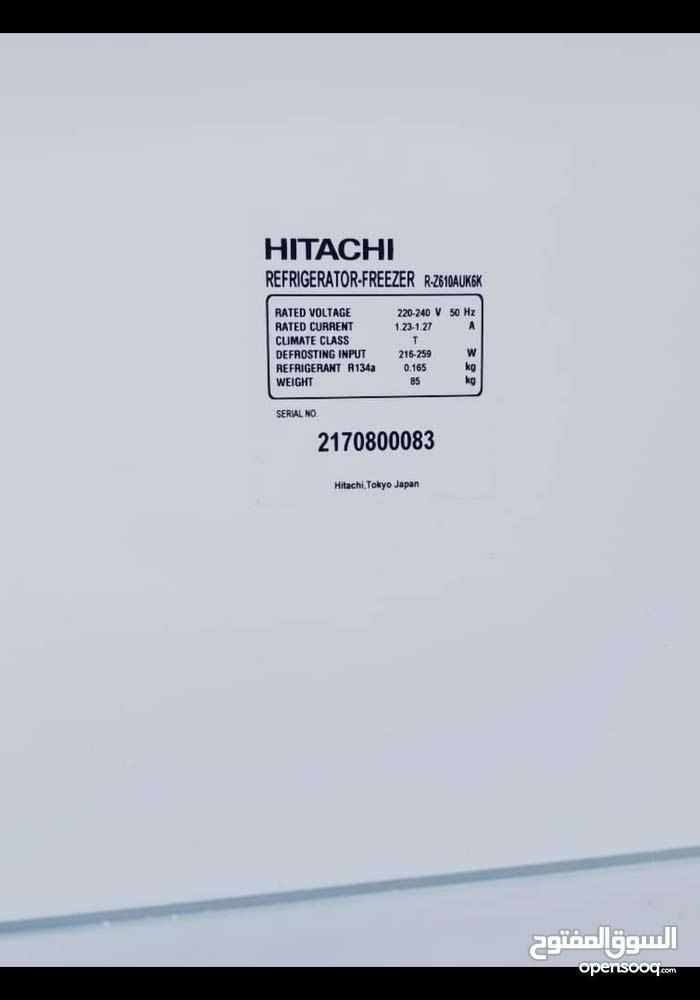 ثلاجه هيتاشي حالتها جيده للبيع