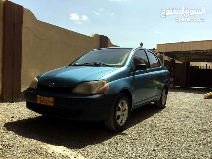 Blue Toyota Echo 2000 for sale