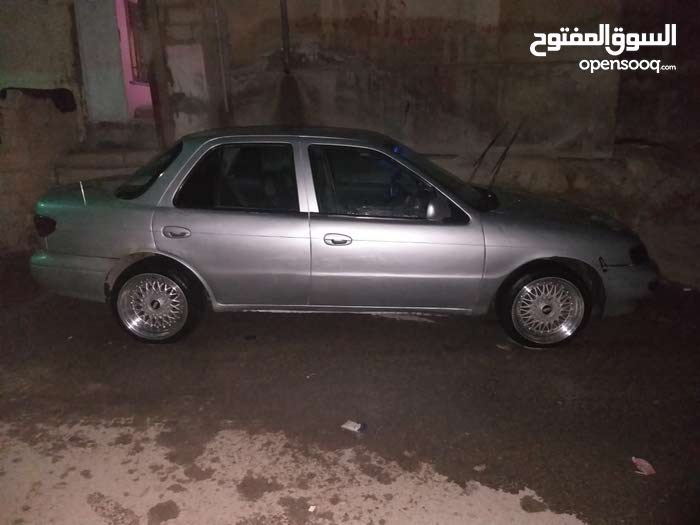 Automatic Silver Kia 1997 for sale