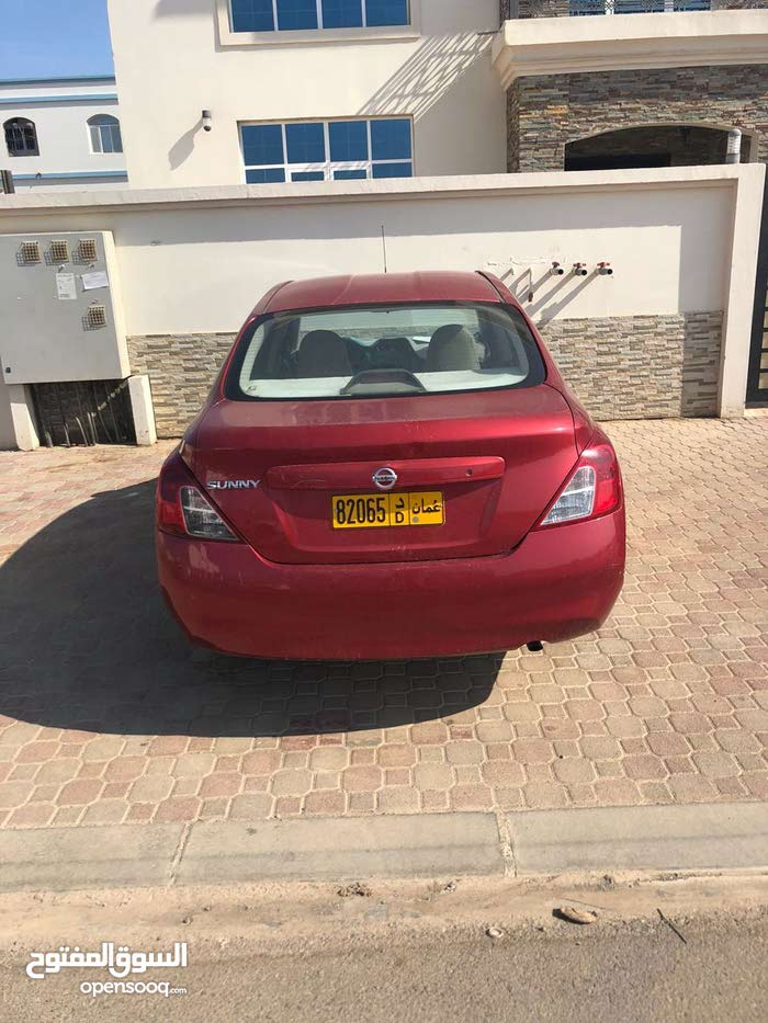Red Nissan Sunny 2013 for sale