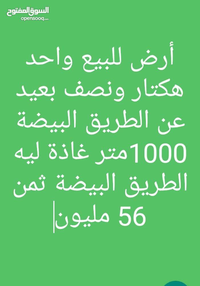 ارض للبيع تترفونصي اولاد عبو في طريق الدار البيضاء داخلة على الكوظرون 1000 متر