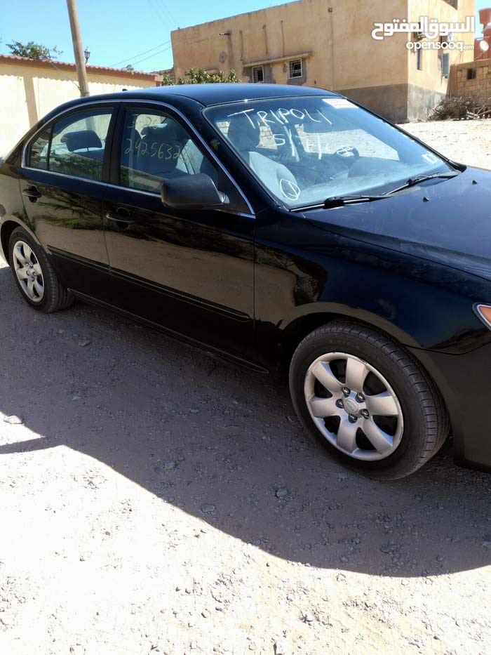 Kia Optima 2009 For sale - Black color