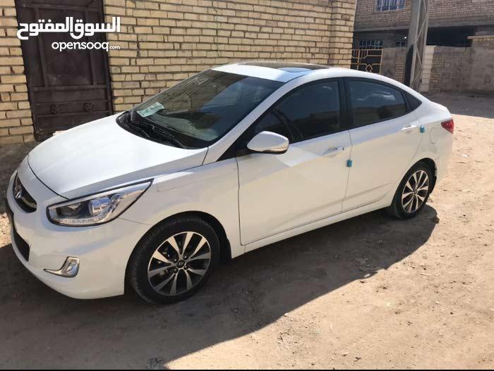 New Hyundai Accent in Baghdad