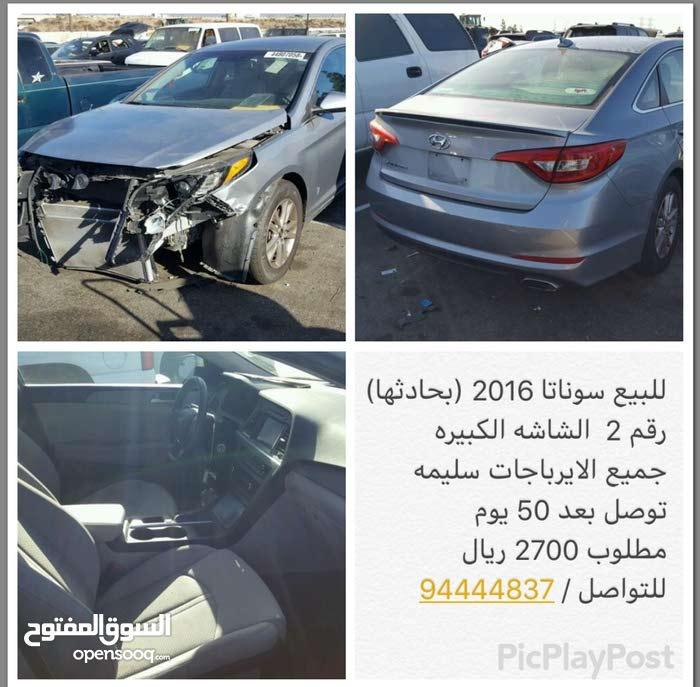 Silver Hyundai Sonata 2016 for sale