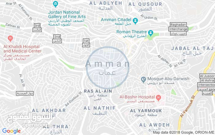 Ground Floor  apartment for sale with More rooms - Amman city Khalda