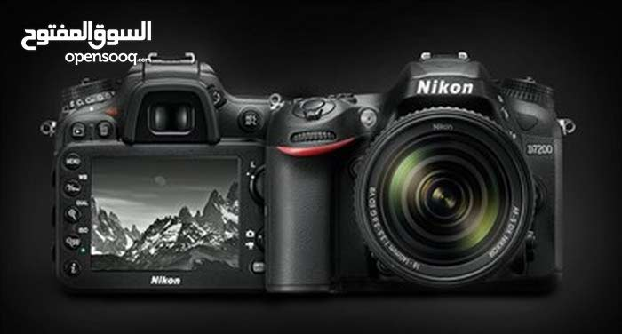 NIKON D7200 WITH 18-140 VR2