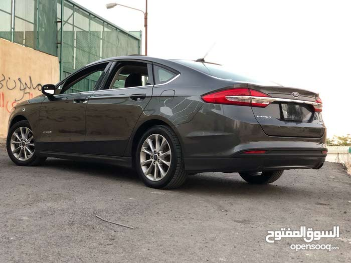 Automatic Ford 2017 for sale - Used - Amman city