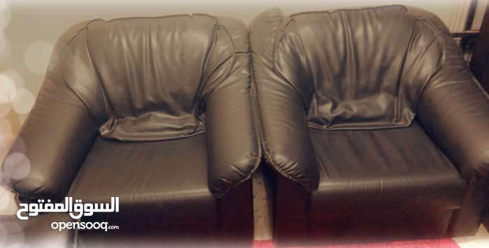 Original leather 5 seater sofa set