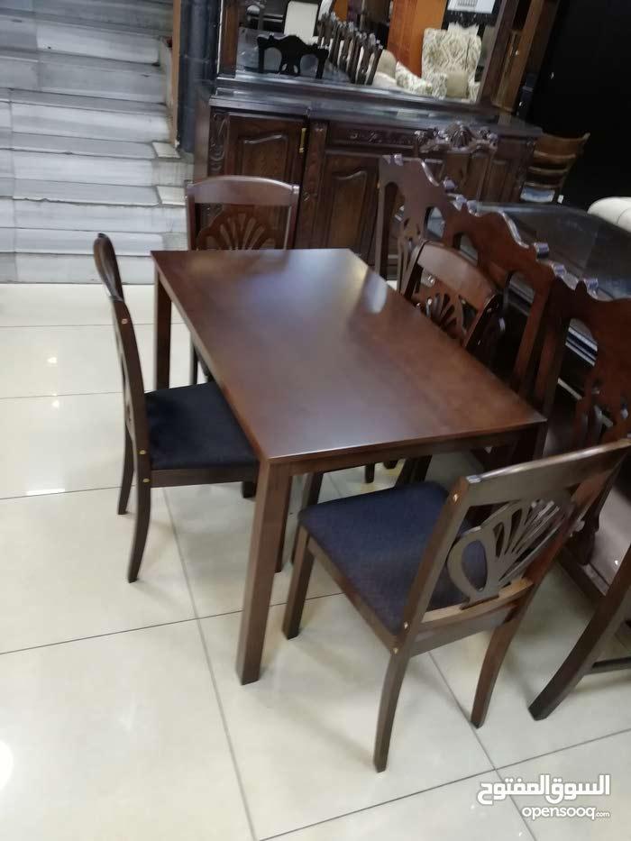 طاولة مطبخ مع 4 كراسب