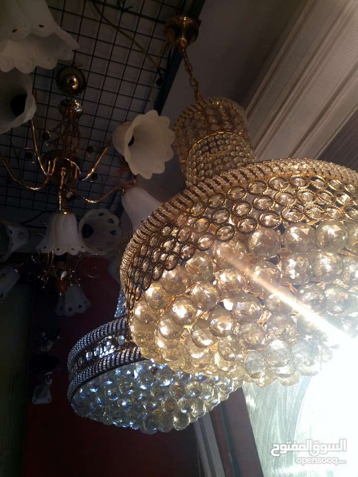 Available for sale New Lighting - Chandeliers - Table Lamps