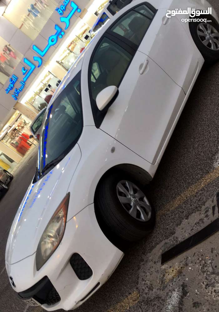 Automatic White Mazda 2012 for sale
