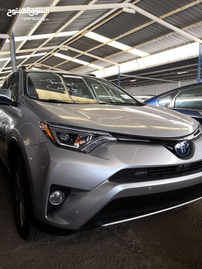 For sale 2016 Silver RAV 4