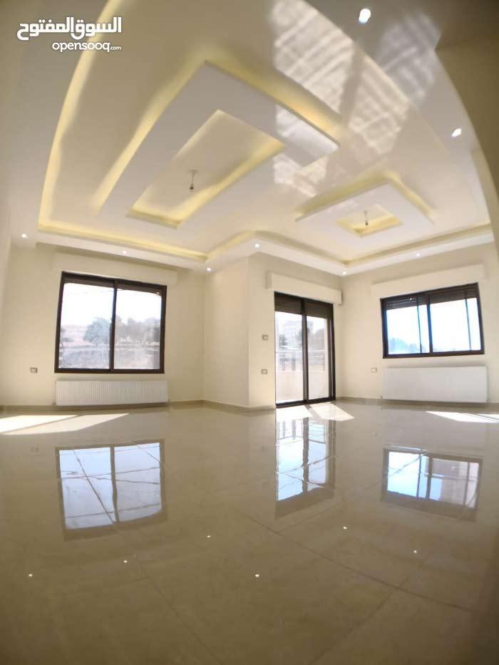 شقة للبيع  166 متر +حديقة 120 متر مع مدخل مستقل في شفا بدران ((الكوم ))