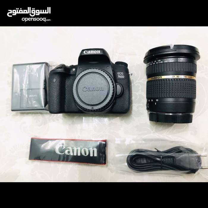 Canon 760d with Tamron 10-24 lens