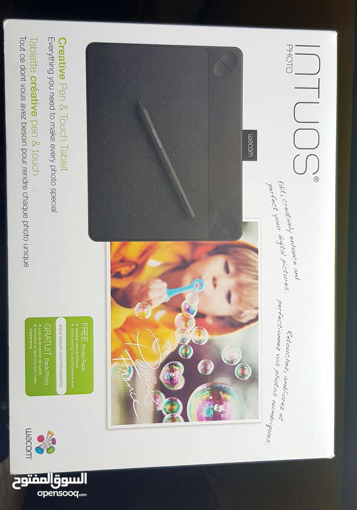 Wacom Drawing Tablet Touch Black