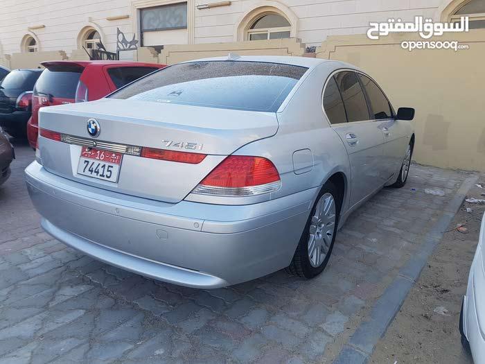 BMW 745 2002 - Abu Dhabi