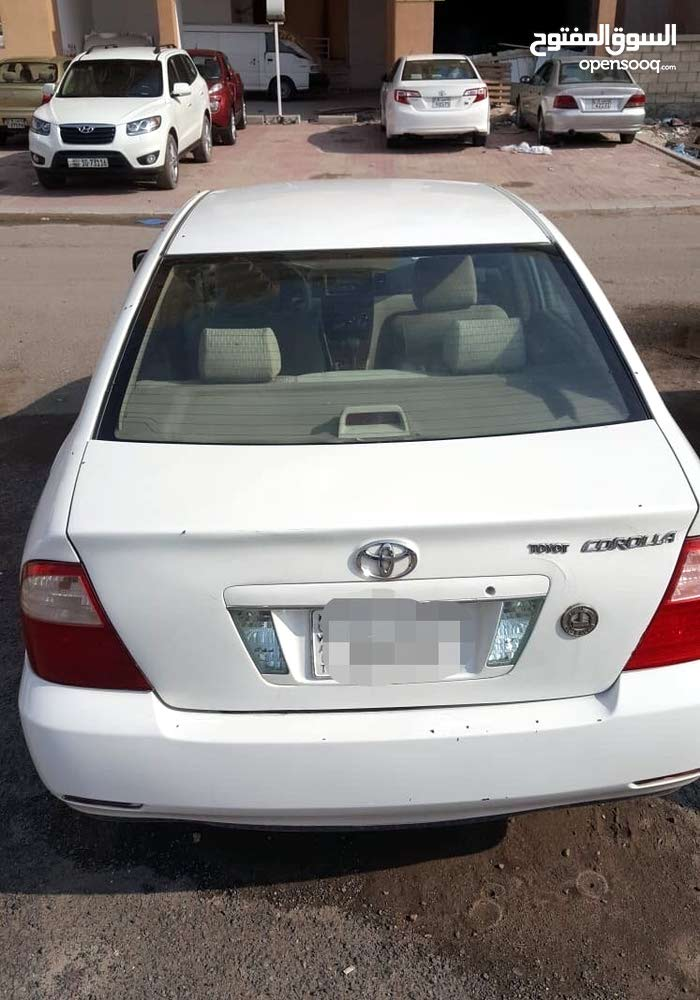 For sale 2007 White Corolla