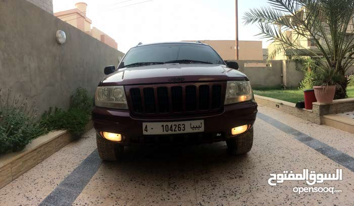 2001 Used Grand Cherokee with Automatic transmission is available for sale