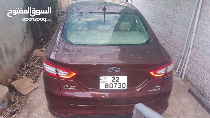 Ford Fusion 2015 For sale - Maroon color