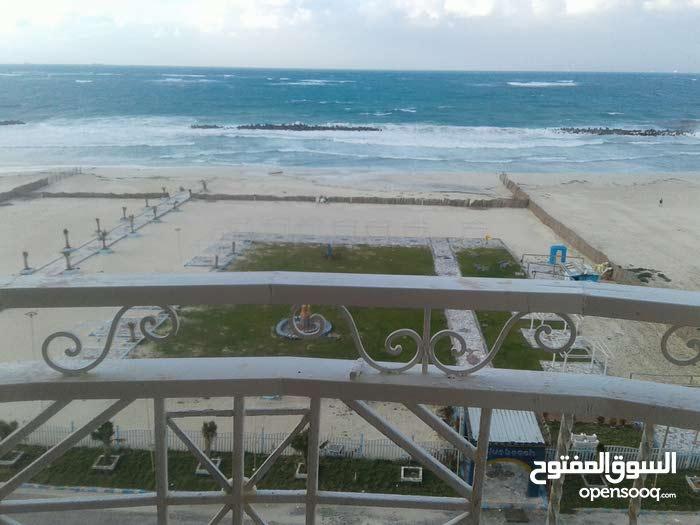 أمتلك شقة أول نمرة علي البحر مباشرة بشاطئ النخيل قرية 6 أكتوبر العجمي الاسكندرية