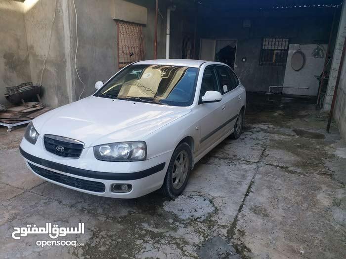 Automatic White Hyundai 2002 for sale