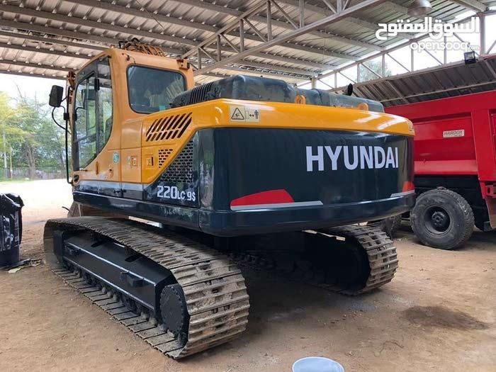 حفار هونداي220lc-9s  excavator