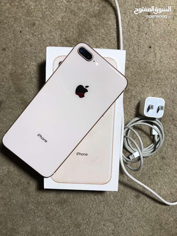 ايفون 8 بلس امريكي ذاكرة64 نظيف للبيع