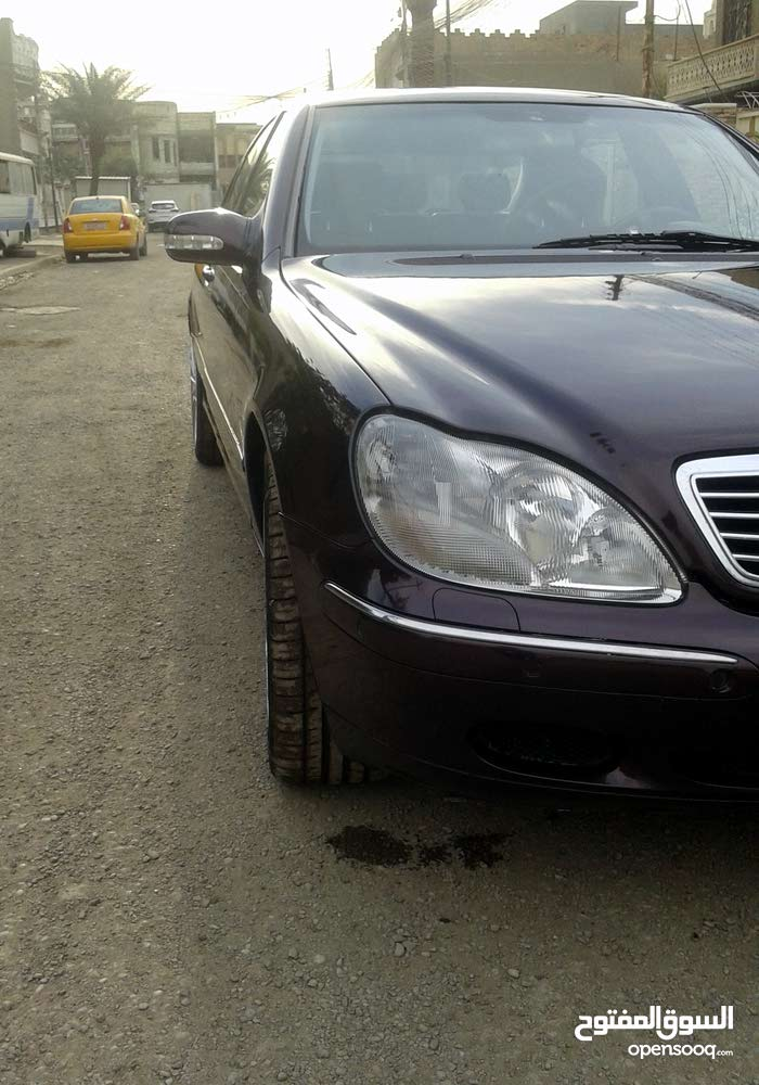 Mercedes Benz S 320 2000 For sale - Maroon color