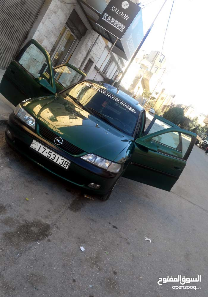 Gasoline Fuel/Power   Opel Vectra 1996