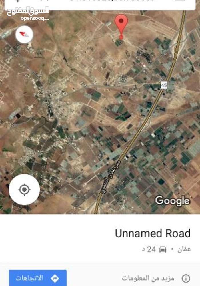 ارض للبيع في اللبن قرب مسجد كريشان مطله وكاشفه