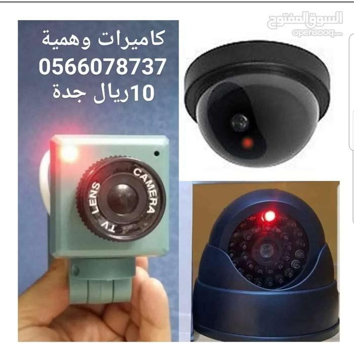 كاميرات مراقبة وهمية